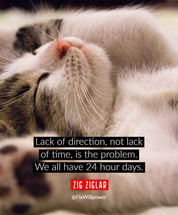 time management quotes Ziglar