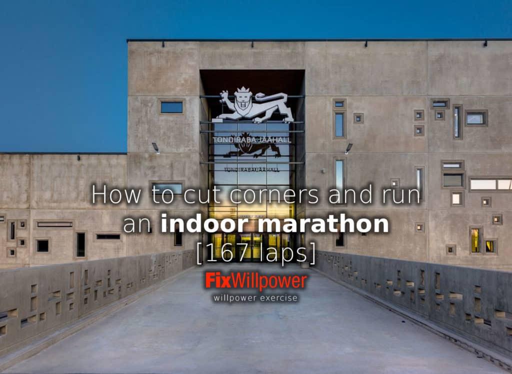 Tondiraba indoor marathon