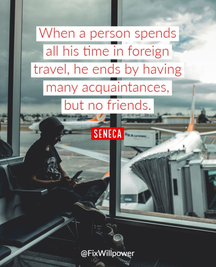 travel Seneca quote