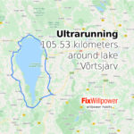 Ultrarunning: 105.53 kilometers around lake Võrtsjärv