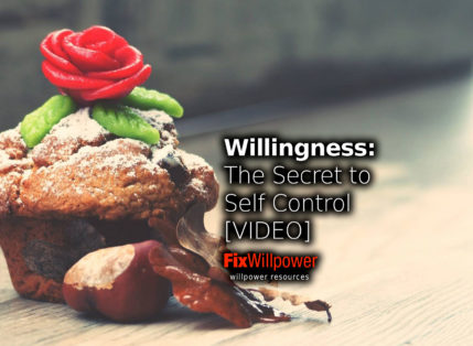 Willingness: The Secret to Double Your Self-Control [2 VIDEOS]