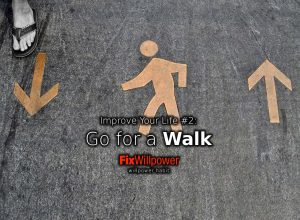 willpower habit walking