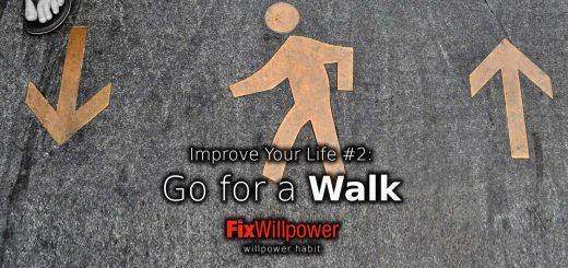 willpower habit walking