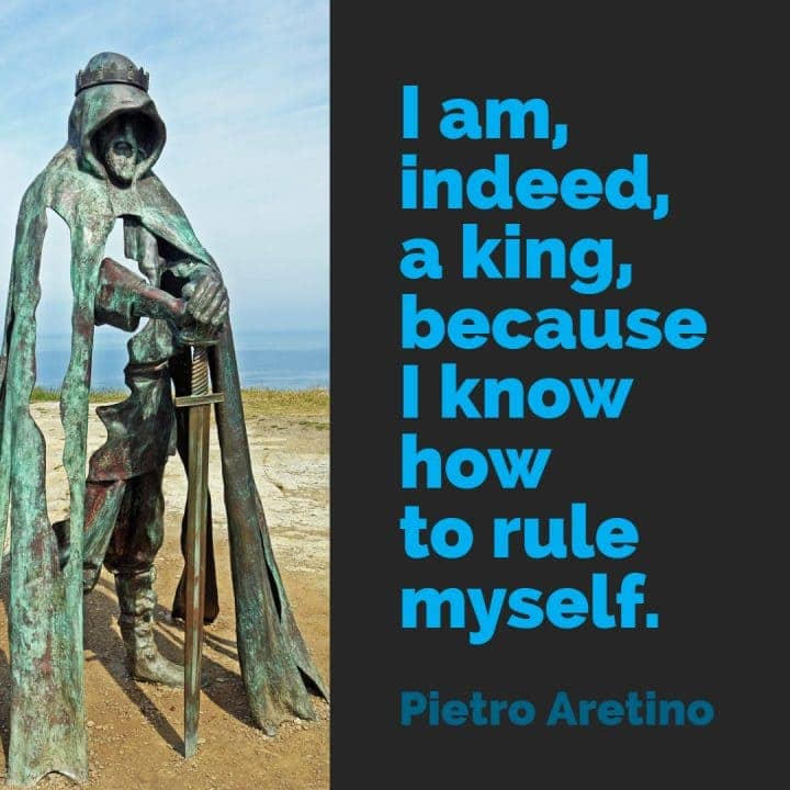 willpower quotes aretino