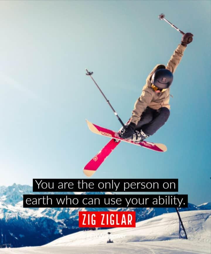 willpower quotes Zig Ziglar