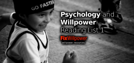willpower reading list