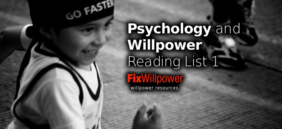 willpower reading list