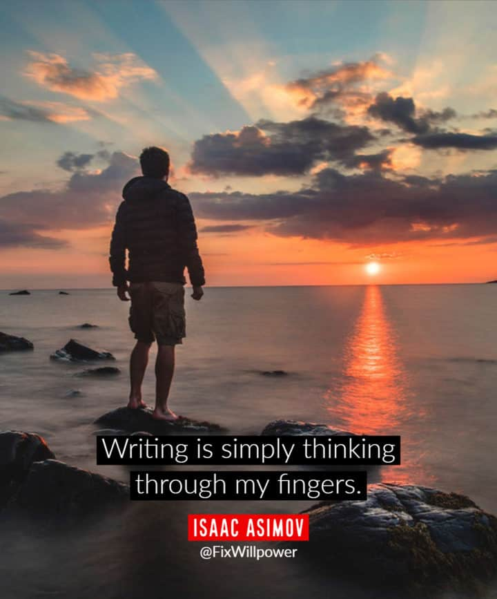 writing quotes Asimov