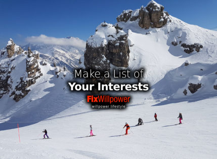 Why Make a List of Interests You Have? [Self-Improvement 26]